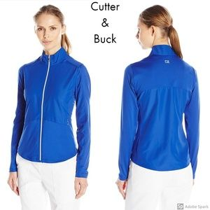 Cutter & Buck Weathertec Zip Wind Rain Jacket L 12